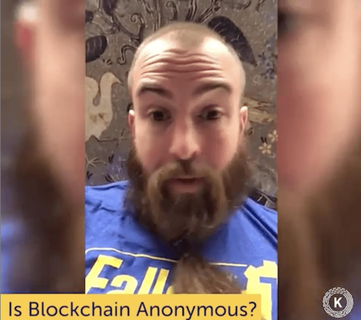 Is Blockchain Anonymous