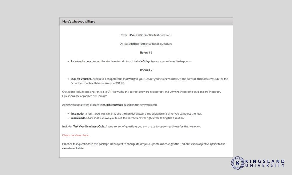 GCGA Practice Questions