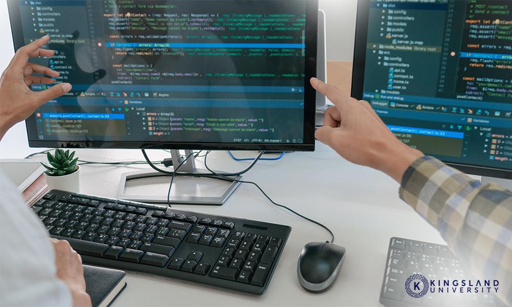 Team Doing Coding