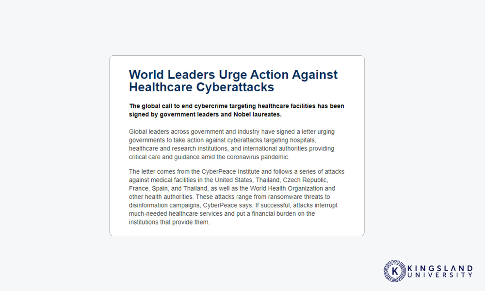 World Leaders Cyberattacks