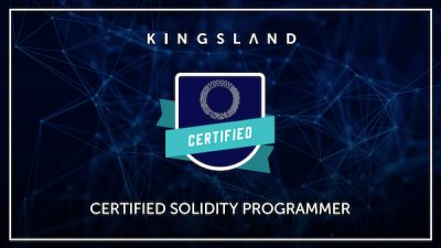 CERTIFIED SOLIDITY PROGRAMMER