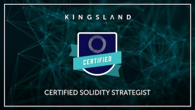 CERTIFIED SOLIDITY STRATEGIST